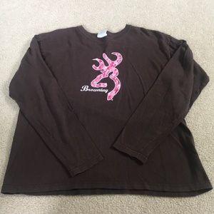 Long sleeve Browning shirt